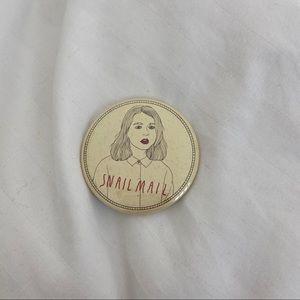 Snail Mail pin